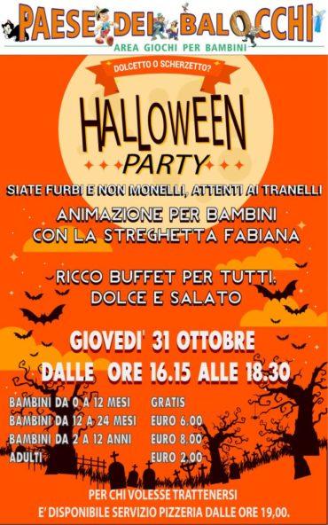 Halloween al Paese dei Balocchi