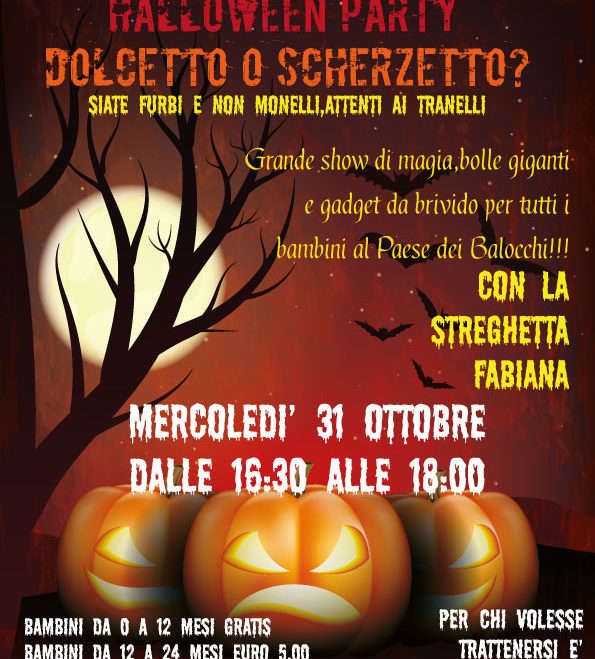Halloween Party: Dolcetto o Scherzetto?