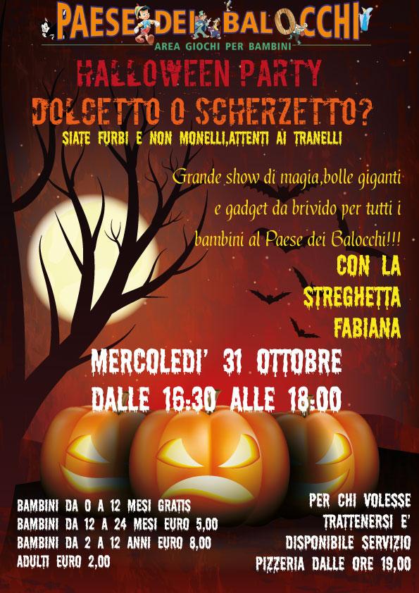 Halloween Party: Dolcetto o Scherzetto?