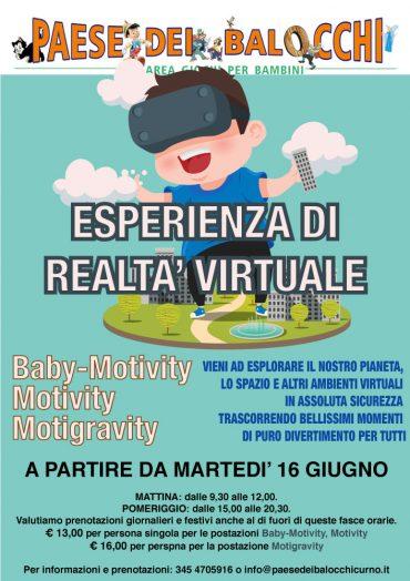 Esperienza di realtà virtuale